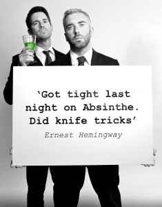 The Thinking drinkers Guide to Alcohol ABSINTHE B &W