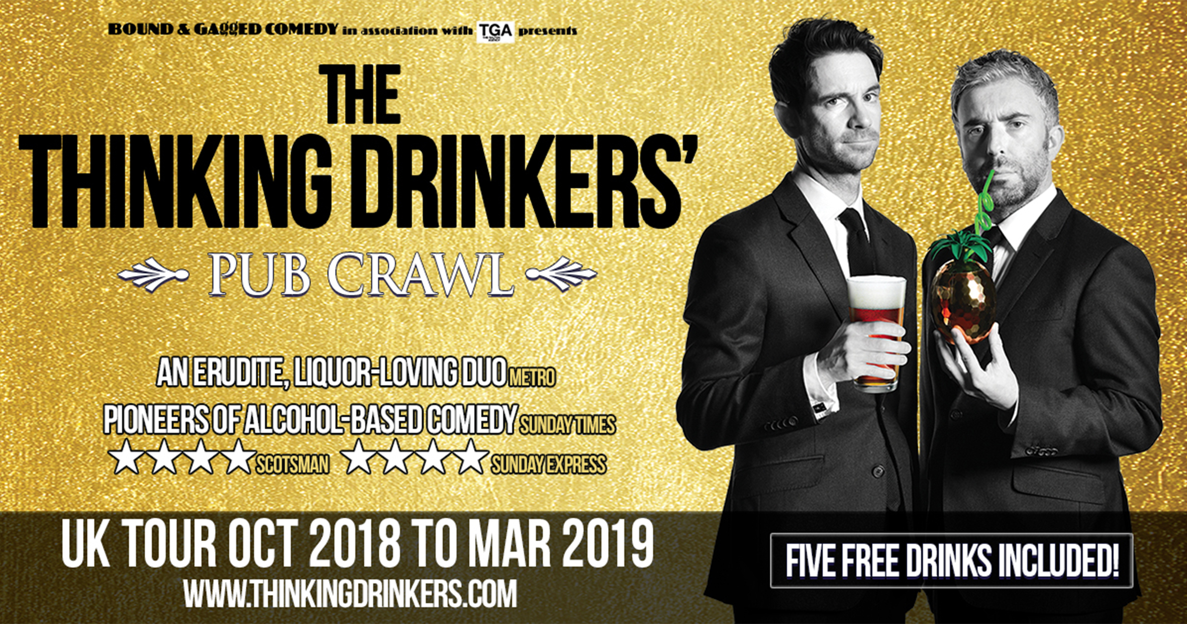 Thinking Drinkers Show Site Banner